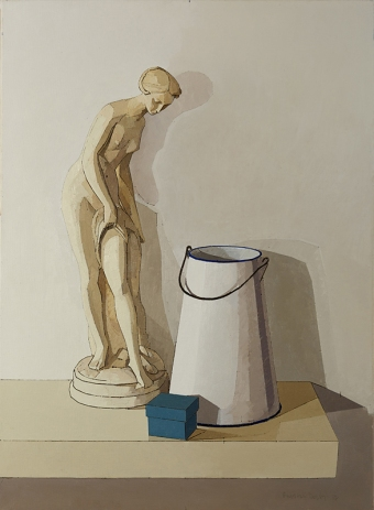cat-461-plaster-statue-enamel-pitcher-and-blue-box-22x30-med-file