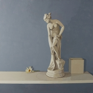 cat-442-plaster-statue-and-a-flower-30x30-med-file