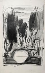 16-horseman-between-cypresses