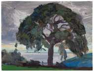 McDonnell-2-Old-Church-Ash-on-an-August-Evening-Oil