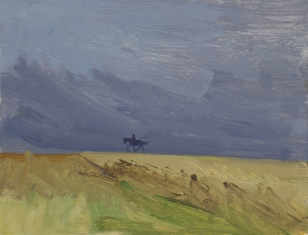 e-a-loose-walk-home-from-the-curragh-gallops