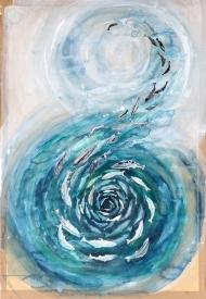 Fish-spiral