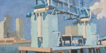 Blue-Cranes-at-Peppers-Wharf-I