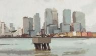 Canary-Wharf,-white-sky-(Delta-Wharf-Greenwich).-2009-2011