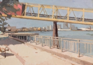 Conveyor-Belt,-Woolwich,-view-east.-2014