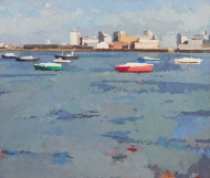 High-tide-view-towards-Silvertown.-2009