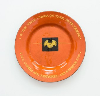 Prue Cooper - Slipware Dishes (10)