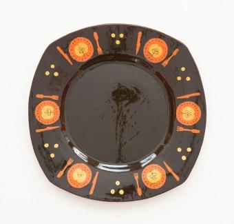 Prue Cooper - Slipware Dishes (1)
