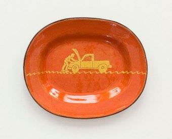 Prue Cooper - Slipware Dishes (21)
