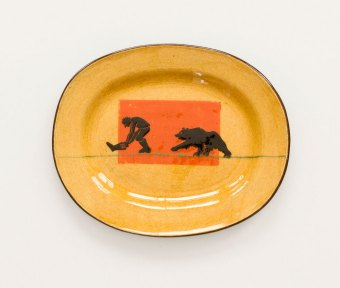 Prue Cooper - Slipware Dishes (18)