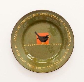 Prue Cooper - Slipware Dishes (5)