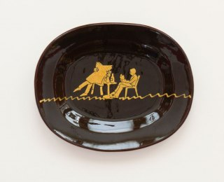 Prue Cooper - Slipware Dishes (24)