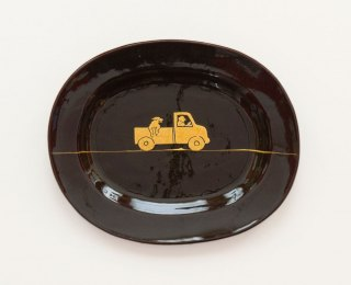 Prue Cooper - Slipware Dishes (25)