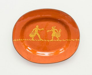 Prue Cooper - Slipware Dishes (50)