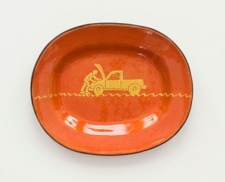Prue Cooper - Slipware Dishes (21)