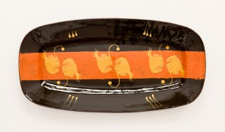 Prue Cooper - Slipware Dishes (2)