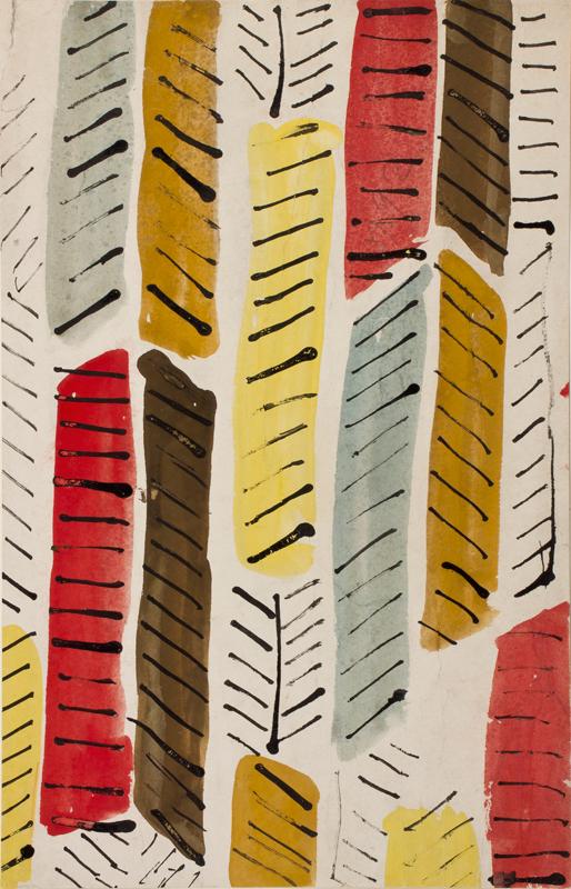 GRANT Duncan L.G. (1885-1978) - Pen, ink watercolour and gouache.