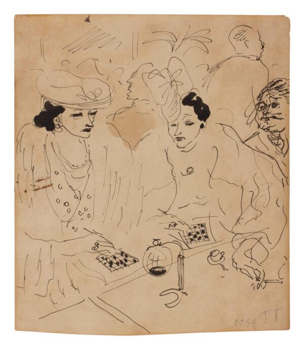 TOPOLSKI Feliks R.A. (1907-1989) - Drawings of Paris in the '30s.