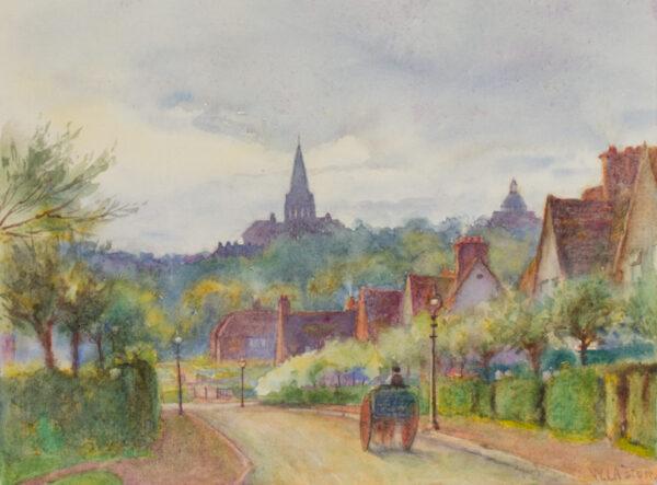 ASTON William Isaac (1857-1939) - Hampstead Garden Suburb.