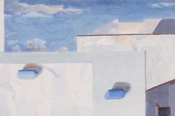 WARD Charlotte (b.1957) - Paintings on wood.