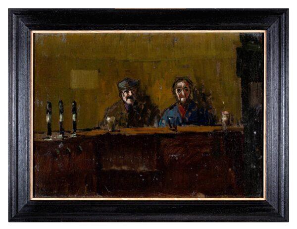 COLLINS Peter Gerald (1923-2001) - Pub Table.