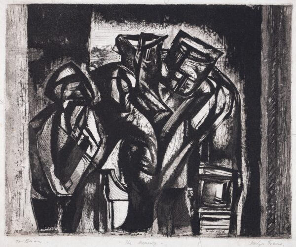 EVANS Merlyn (1910-1973) - 'The Miners'.