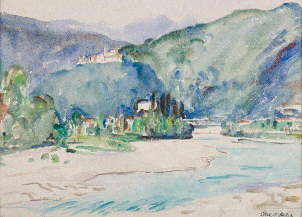 HATCH Ethel (1869-1975) - A Northern Italian valley.