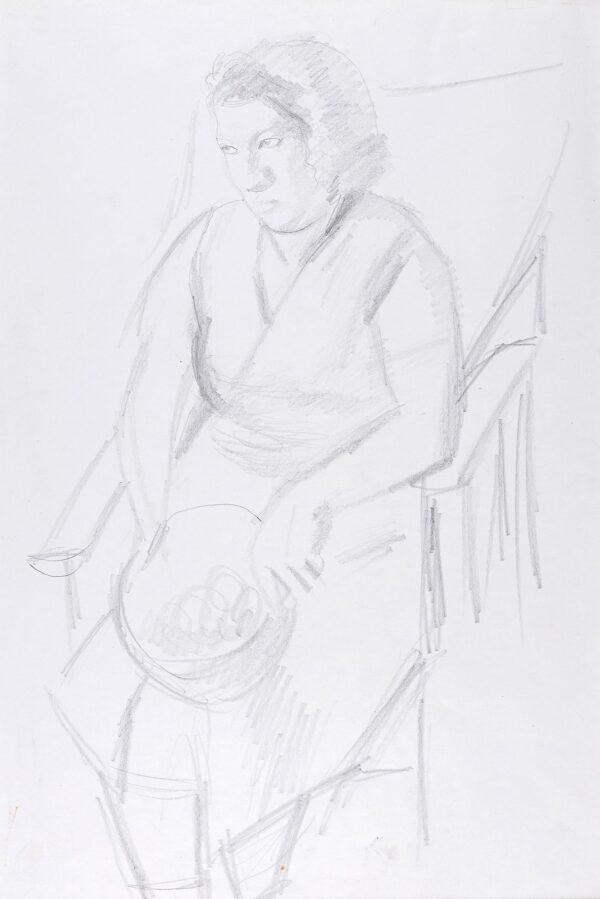 HEPWORTH Dorothy (1898-1978) - Village woman, Cookham.