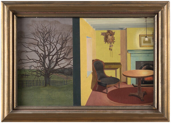 HODGSON Louisa (1905-1980) - 'Winter'.