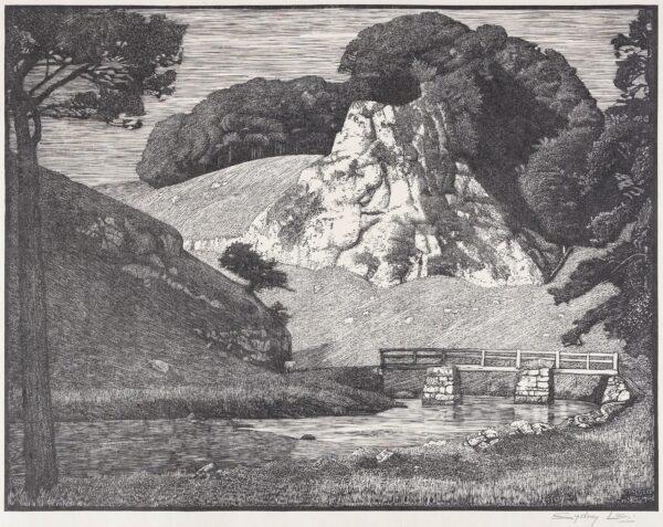 LEE Sydney R.A. (1866-1949) - 'The Limestone Rock'.