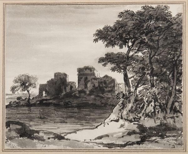 MONRO Dr Thomas (1759-1833) - Castle Ruins.