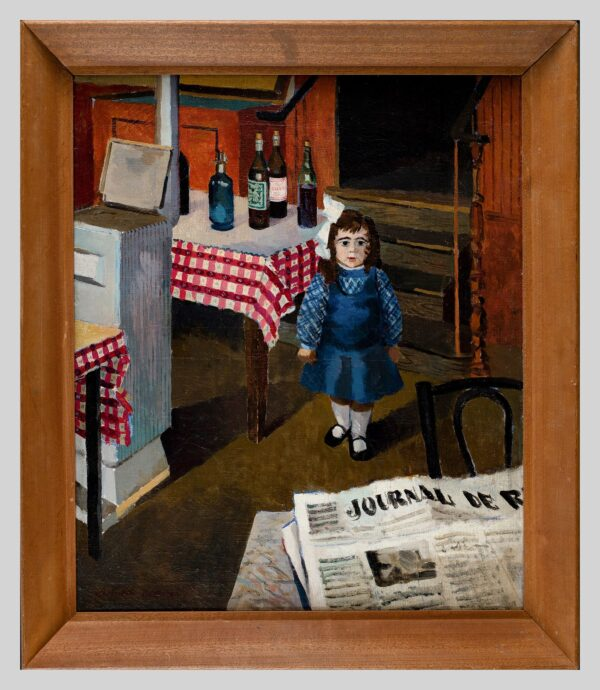 ROWNTREE Kenneth (1915-1997) - 'Mlle Monicette Caniere': the Patronne's Daughter.