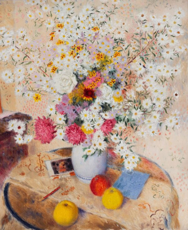 SCOTT Gordon (1914-2016) - Letter, fruit and flowers.