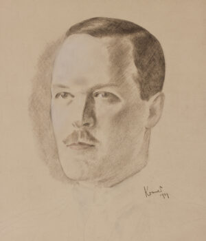 KRAMER Jacob (1892-1962) - Head of a Leedian.