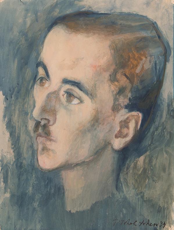 TCHELICHEV Pavel Tchelichev (1898-1957) - Head of a Man.