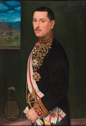 VILADRICH VILA Miguel (Lerida, Spain 1887 - Buenos Aires 1956) - His Excellency Señor Don José Maria de Solano, Envoy Extraordinary and Minister Plenipotentiary of the Cuban Republic to Uruguay.