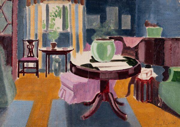 MALET Guy Seymour Warre (1900-1973) - Study: Interior.