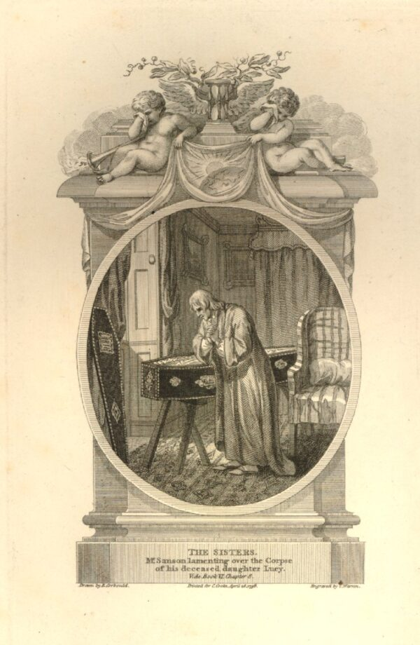 CORBOULD Richard (1757-1831) - Cartouche for an illustration to Book IV Chap 6 a 1798 edition of  Rev.