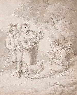 ABBOTT John White (1763-1851) - Woodlanders, Devon.