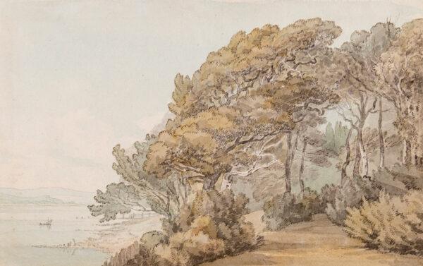 ABBOTT John White (1763-1851) - 'Nutwell', the grounds of Nutwell Court, Devon.