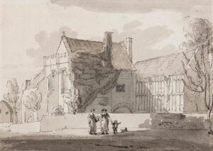 ABBOTT John White (1763-1851) - Muchelney Abbey, Somerset.