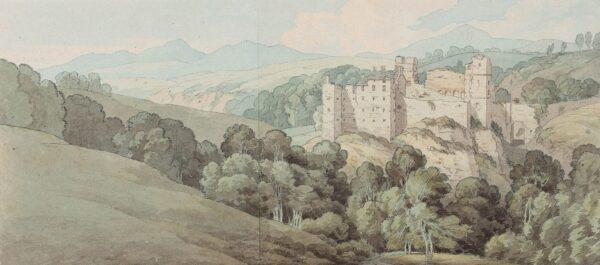 ABBOTT John White (1763-1851) - Rosslyn Castle.