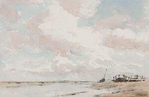 ACKERMANN Arthur Gerald R.I. (1876-1960) - 'Blakeney Cut'.
