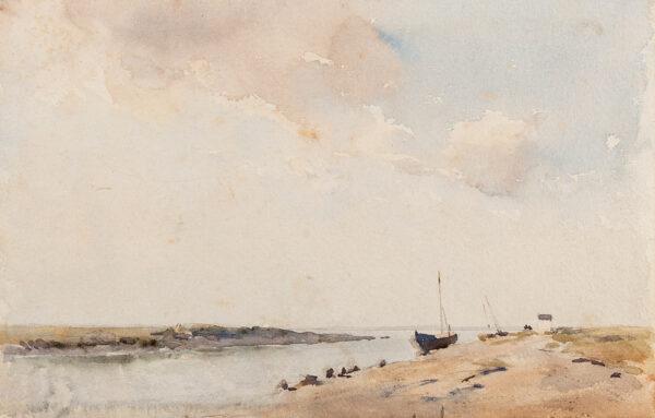 ACKERMANN Arthur Gerald R.I. (1876-1960) - Blakeney Cut.
