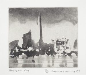 ACKROYD Norman C.B.E. R.A. (b.1938) - 'Pool of London'.