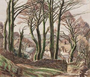 ADAMS G. Hervey (1903-1996) - Gloucestershire: 'Pinfarthings'.