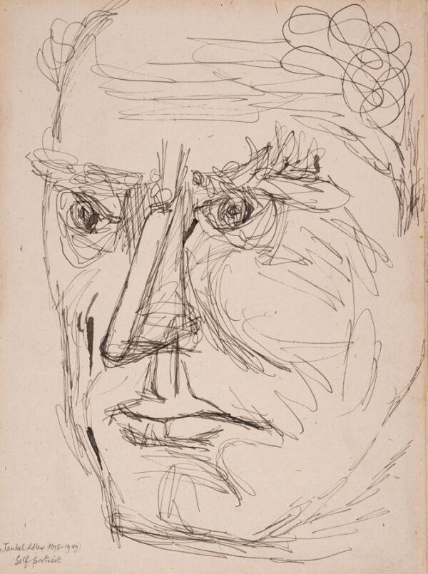 ADLER Jankel (1895-1949) - Self-portrait.