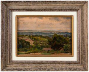 ADENEY Bernard (1878-1966) - Landscape study.