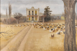 ADSHEAD Mary (1904-1995) - 'Chateau Poulet' near Fourcalquier, Haute Provence.