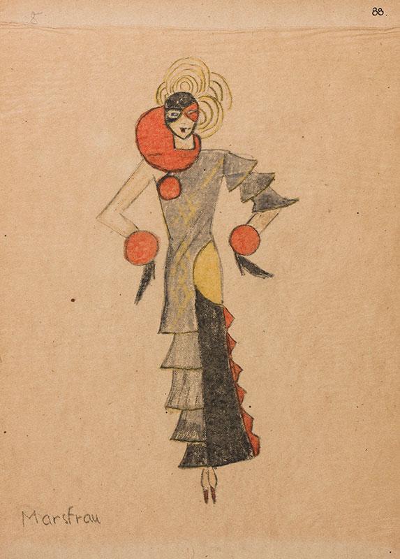 ANON. - Costume designer for 'Maison Lehman'.